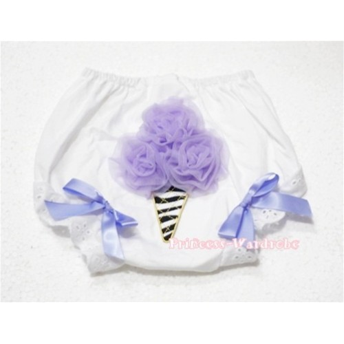 Lavender Zebra Ice Cream Panties Bloomers BD25