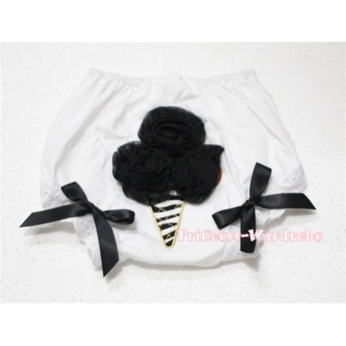 Black Zebra Ice Cream Panties Bloomers BD26
