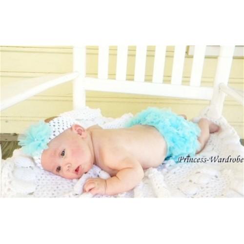 Light Blue Ruffles Bloomers B01