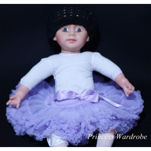 Light Purple PREMIUM New Born Pettiskirt D04
