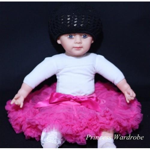 Hot Pink PREMIUM New Born Pettiskirt D02
