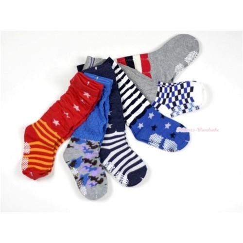 Lot 6 Style Cotton Socks H312