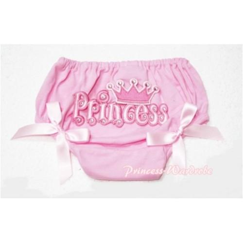Pink Bloomers & Princess Logo & Pink Bows BC53