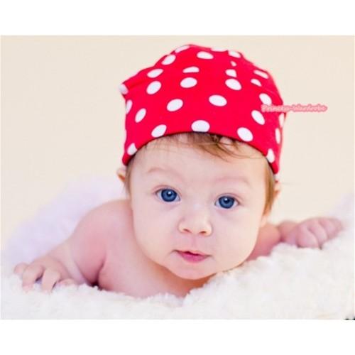 Minnie Polka Dots Cotton Cap H284