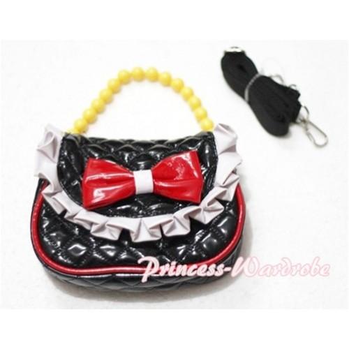 Black Little Cute Handbag Petti Bag Purse CB03