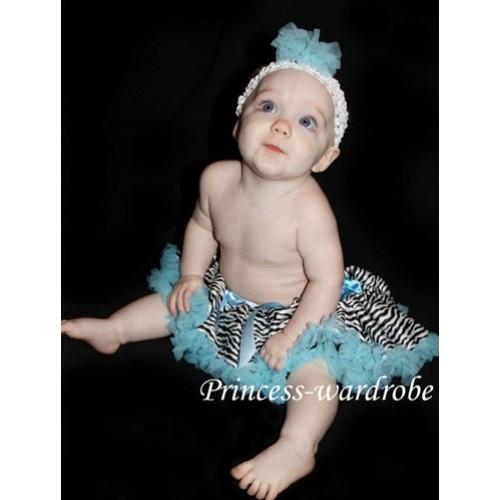 Blue Zebra New Born Pettiskirt N25