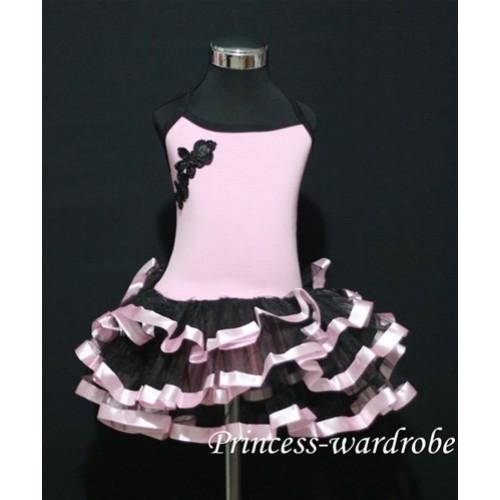 Pink Black Ballet Tutu B57