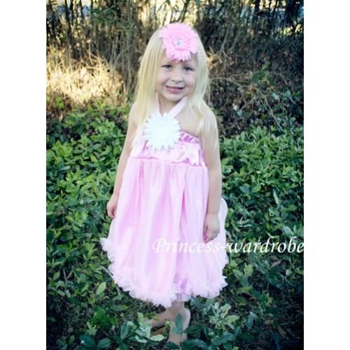 Light Pink Chiffon Pettidress P83