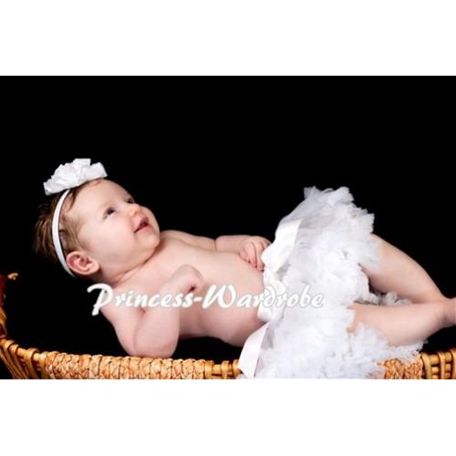 Pure White New Born Pettiskirt N14